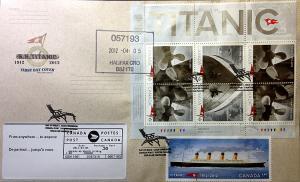 TITANIC #2321s [©McCarthy,D]
