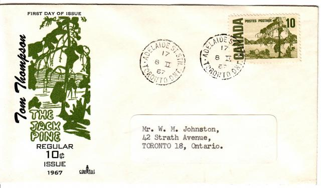 1967 - Capital - 10c