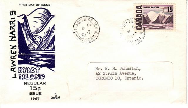1967 - Capital - 15c