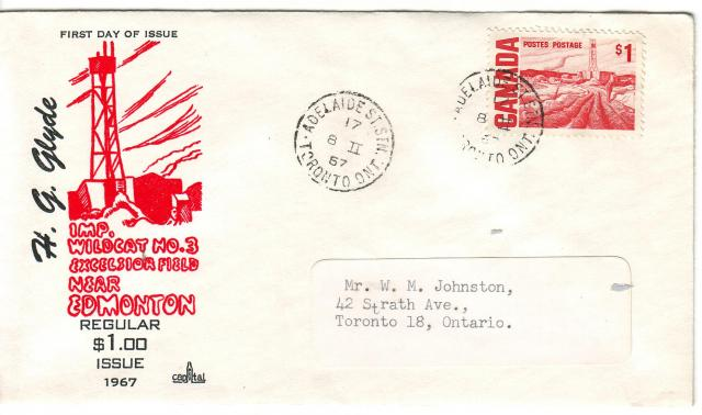 1967 - Capital - $1.00