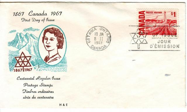 1967 - H&E - $1.00