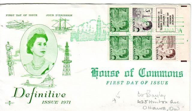 1967 - Rose Craft - Green Queen - 7c Booklet