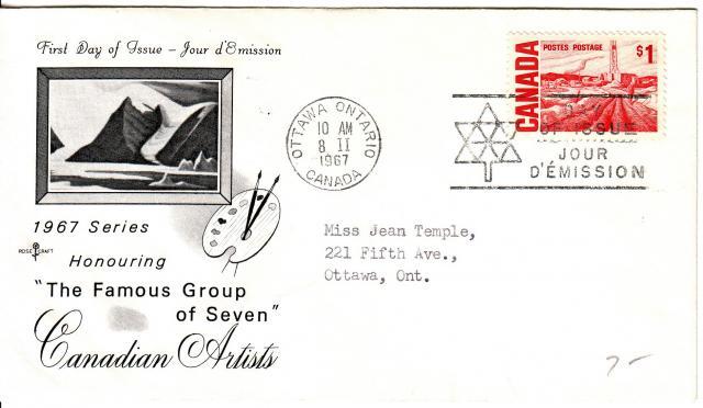 1967 - Rose Craft - Cdn Artists - 1.00