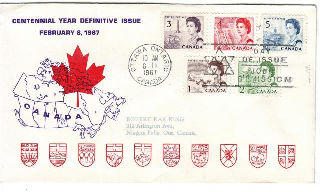 1967 - Personal - Purple with Red Leaf - Comb - 3,4,5,1,2
