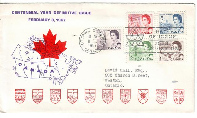 1967 - Personal - Purple with Red Leaf - Comb - 4,5,-3-2,1