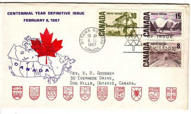 1967 - Personal - Purple with Red Leaf - Comb - 10,15,8