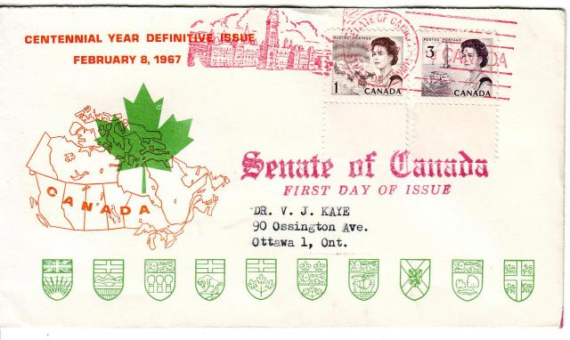 1967 - Personal - Orange with Green Leaf - Comb - 1,3