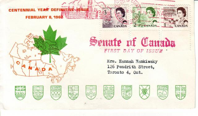 1967 - Personal - Orange with Green Leaf - Comb - 3,2,1