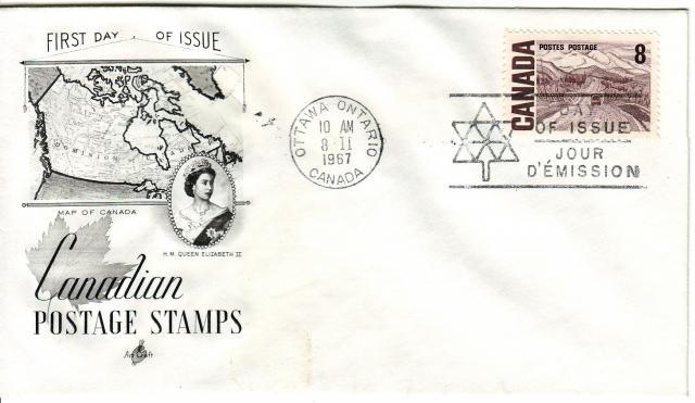 1967 - Art Craft - Blank - 8c