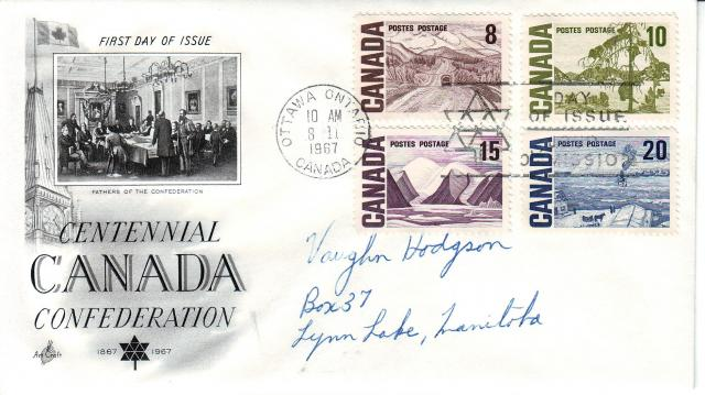 1967 - Art Craft - Confederation - Comb - 8,10,15,20