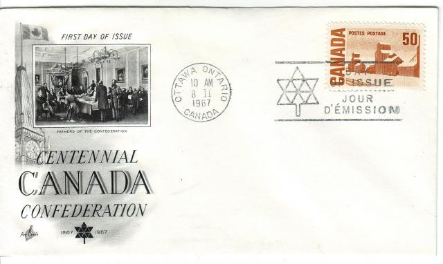 1967 - Art Craft - Confederation - 50c
