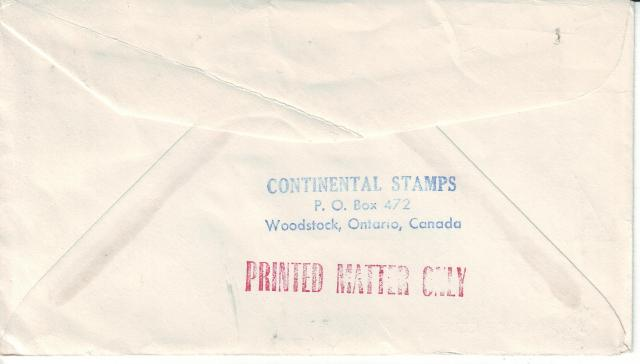 1967 - Continental Stamps