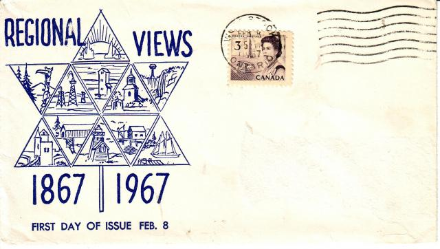 1967 - Continental Stamps - 3c