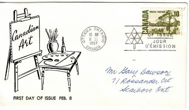1967 - Adelphia Stamp & Coin Co - 10c