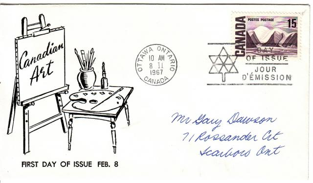 1967 - Adelphia Stamp & Coin Co - 15c