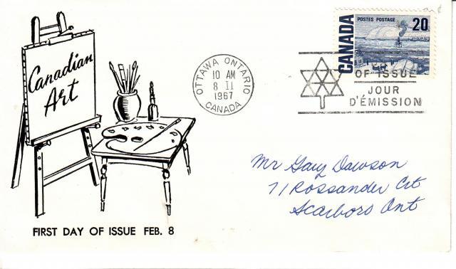 1967 - Adelphia Stamp & Coin Co - 20c