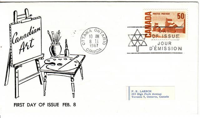 1967 - Adelphia Stamp & Coin Co - 50c