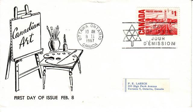 1967 - Adelphia Stamp & Coin Co - 1.00