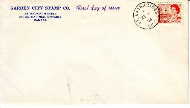 1967 - 6c Orange - Garden City Stamp Co