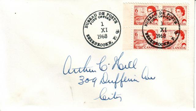 1967 - 6c Orange - Hill
