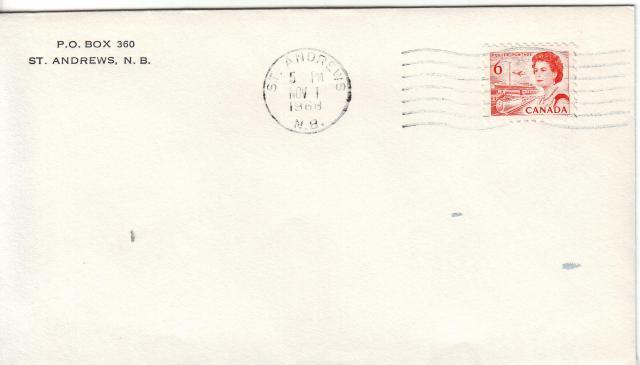 1967 - 6c Orange - St Andrews