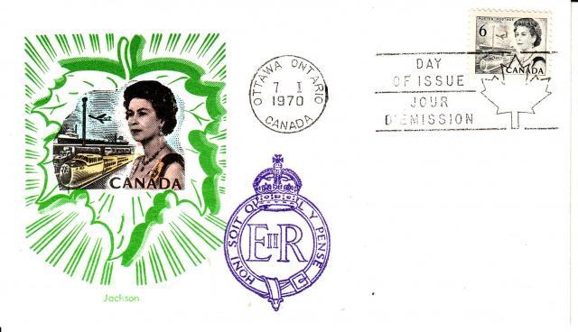 1967 - 6 Black -Jackson - Overseas Mailer