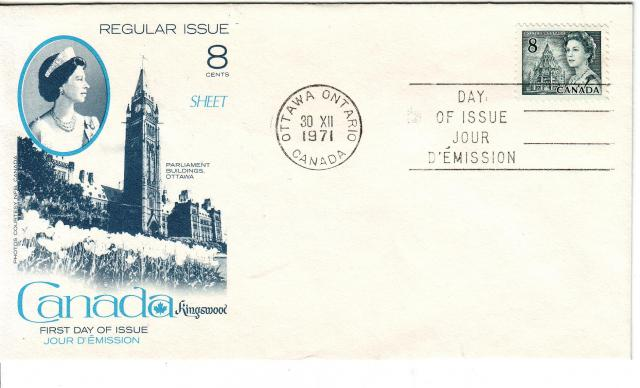 1967 - 8c Slate - Kingswood
