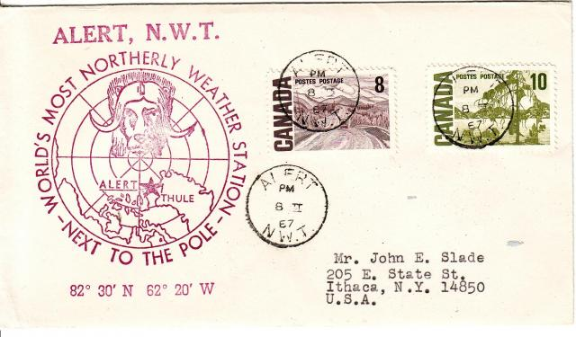 1967 - Odds & Sods - Alert, N.W.T - Comb - 8,10