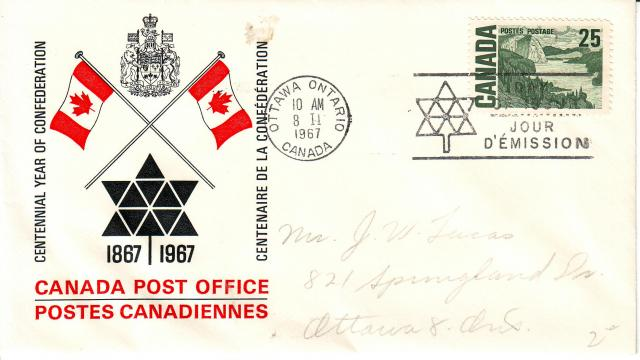 1967 - Odds & Sods - Canada Post Replacement - 25c