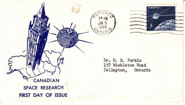 1966 - Alouette II - Canada Space Research