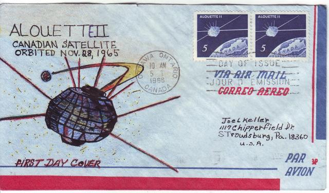 1966 - Alouette II - Joel Keller - Hand Drawn