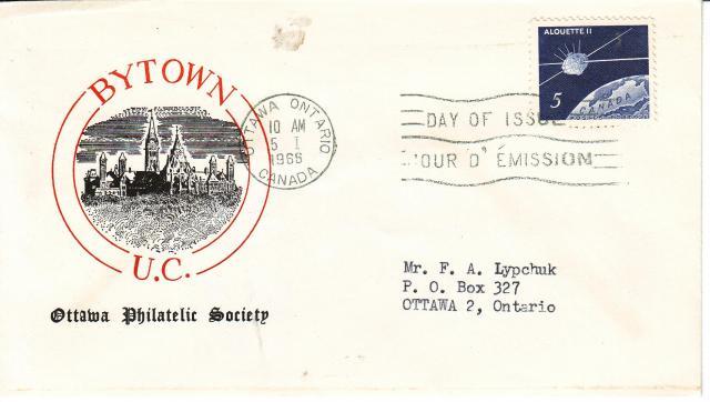 1966 - Alouette II - Ottawa Philatec Society