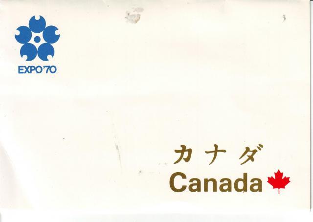 1970 - Expo 70 - Canada Post - Folder