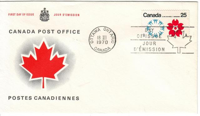 1970 - Expo 70 - Canada Post - Replacement - Canada