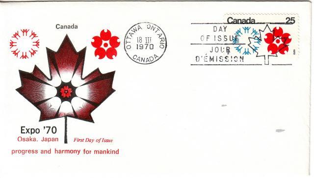 1970 - Expo 70 - Cole - Canada