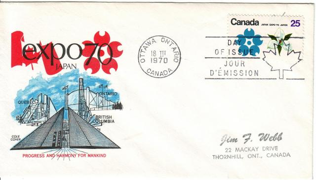 1970 - Expo 70 - Cole 2 - ON