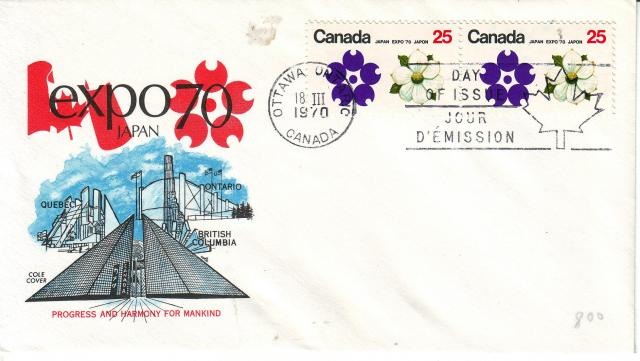 1970 - Expo 70 - Cole 2 - BC Pair