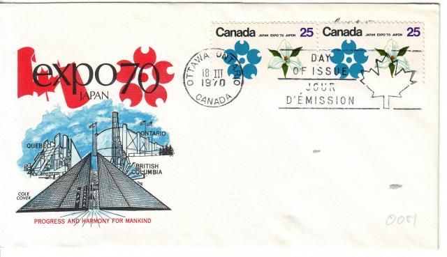 1970 - Expo 70 - Cole 2 - ON Pair