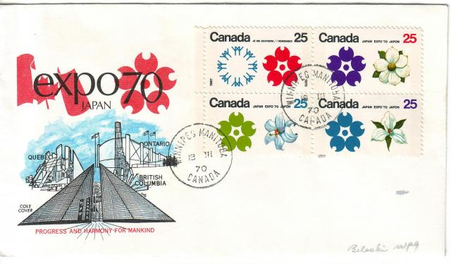 1970 - Expo 70 - Cole 2 - Tagged Block