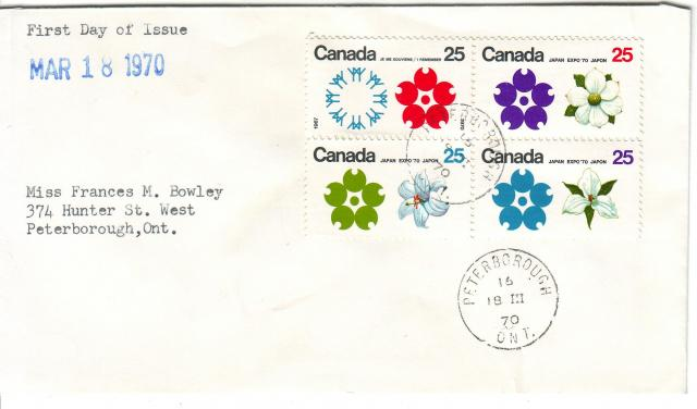 1970 - Expo 70 - Cole - Mrs Bowley