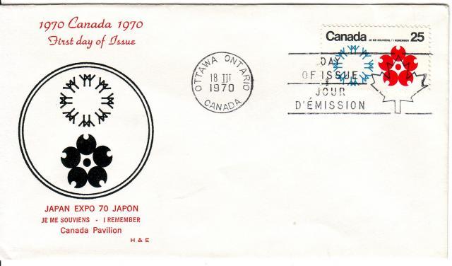 1970 - Expo 70 - H&E - Canada