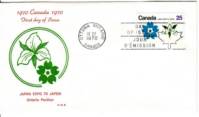 1970 - Expo 70 - H&E - ON