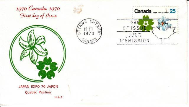 1970 - Expo 70 - H&E - PQ