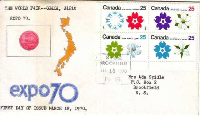 1970 - Expo 70 - Hand Drawn (C Miller)