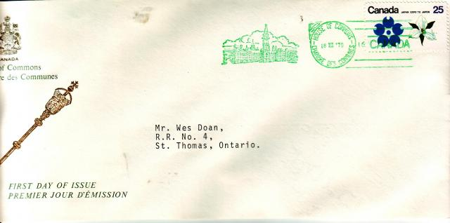 1970 - Expo 70 - House of Commons - ON