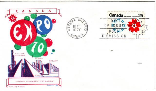 1970 - Expo 70 - Jackson - Canada