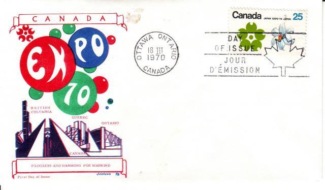 1970 - Expo 70 - Jackson - PQ