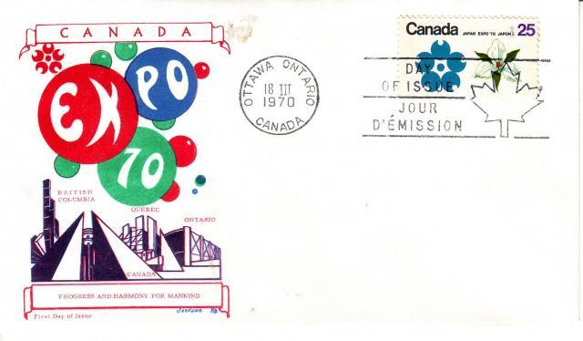 1970 - Expo 70 - Jackson - ON