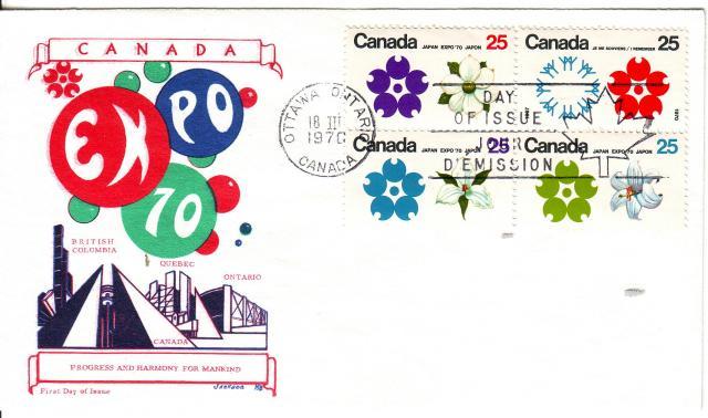 1970 - Expo 70 - Jackson - Comb
