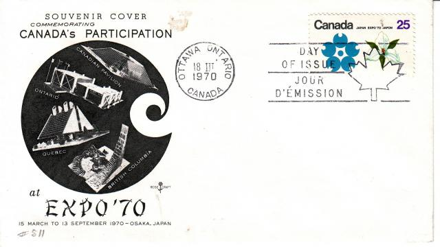 1970 - Expo 70 - Rose Craft - ON